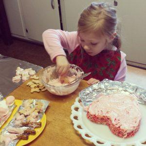 Anna and Pink Bears Birthday