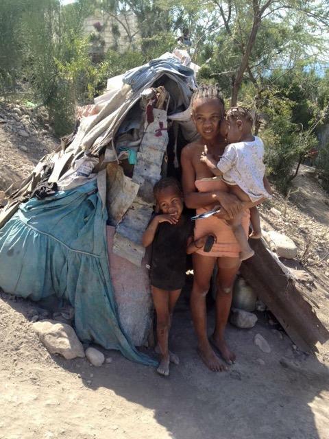 Haiti naked female — 12