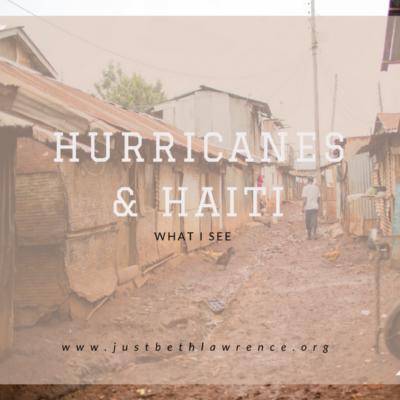 Haiti & Hurricanes